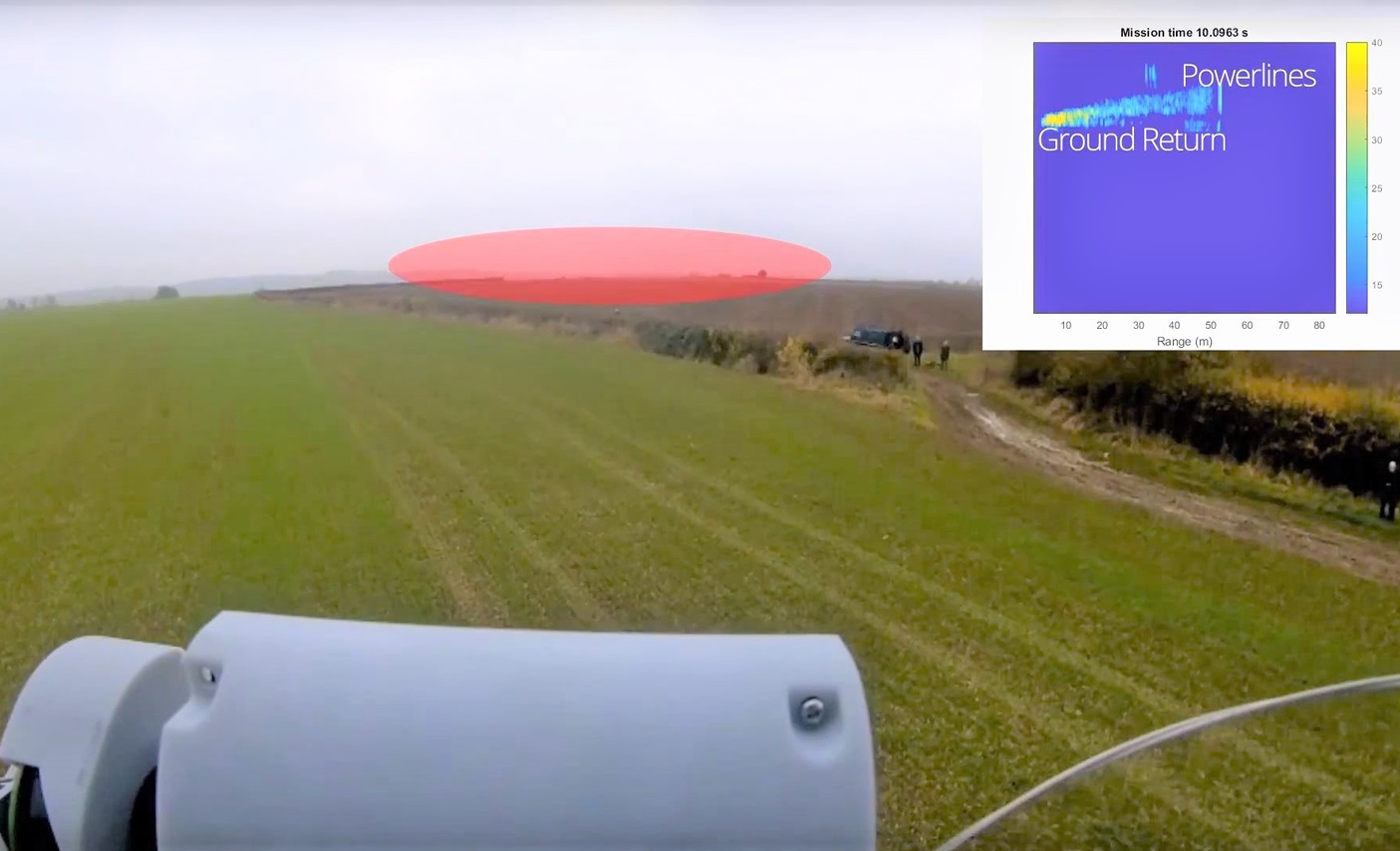 Successful trials of Plextek's micro radar shows game-changing capability for UAS