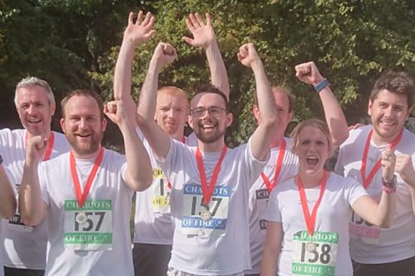 Plextek Raises Money for Community in Chariots of Fire