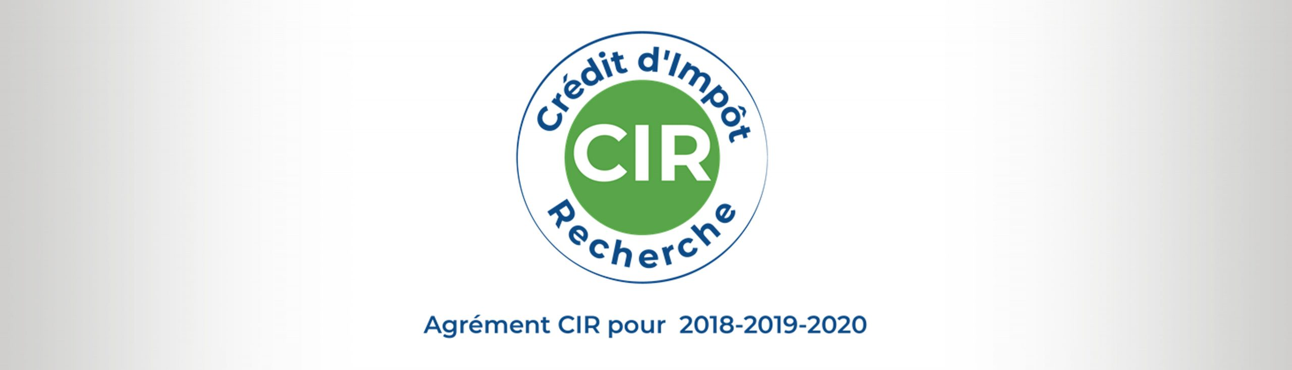 CIR accreditation after approval from the French Ministry of Higher Education, Research and Innovation