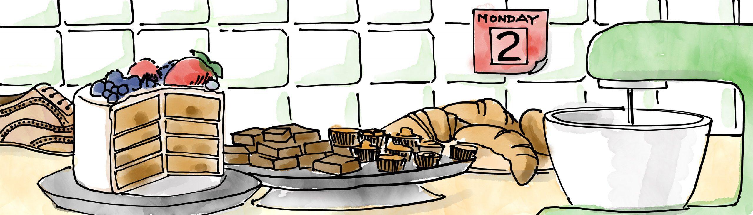 baking, blog header image