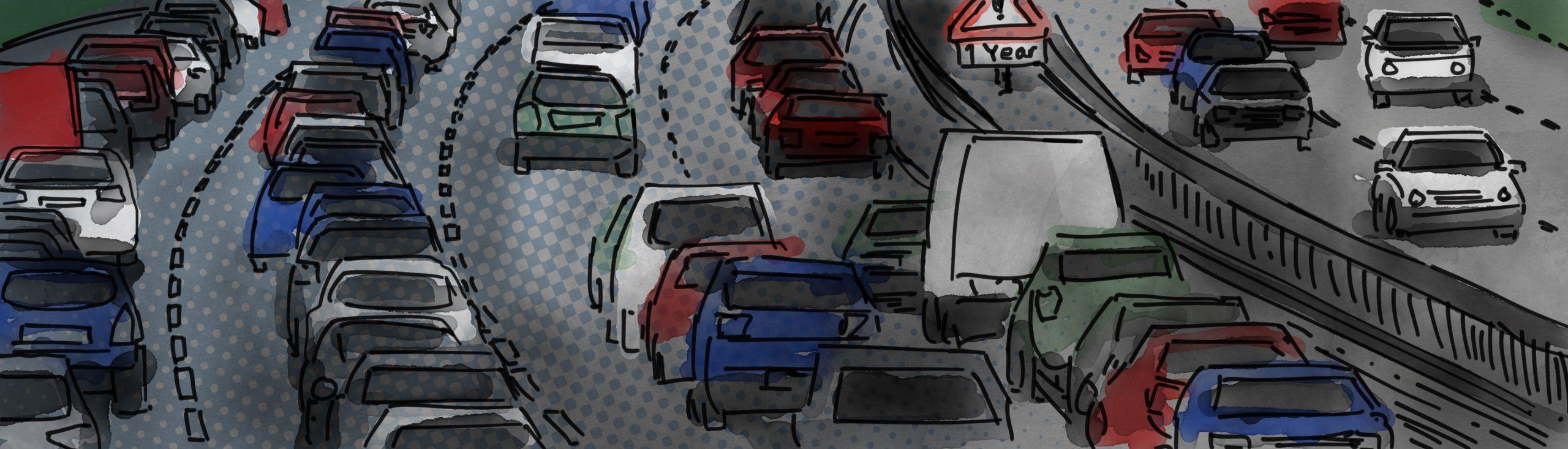 Transport congestion, blog head image