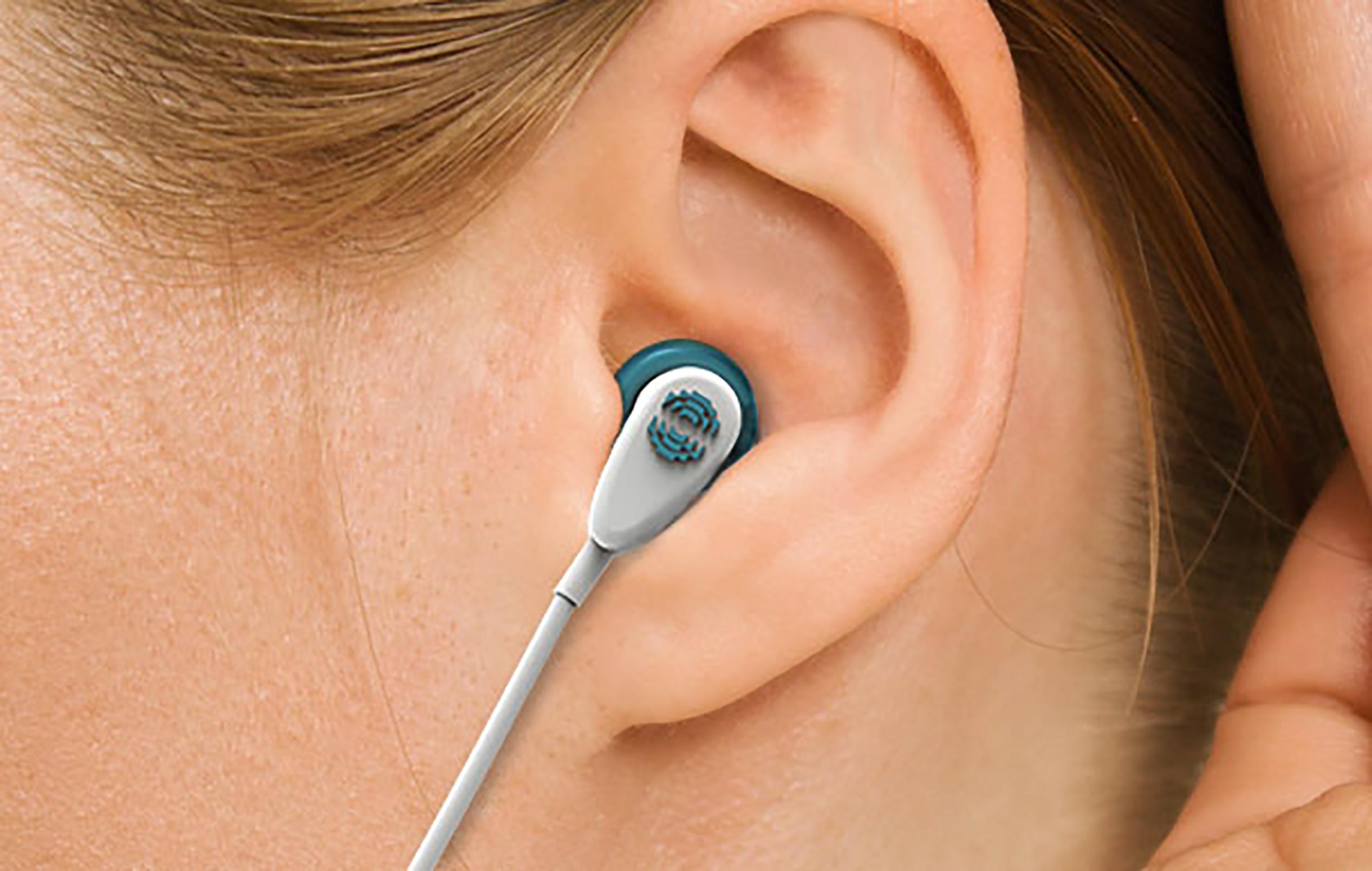 tinnitus sensor in earphones