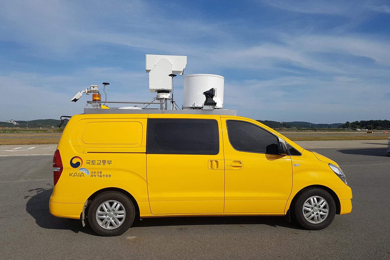 Korean airport Radar Van Mobile