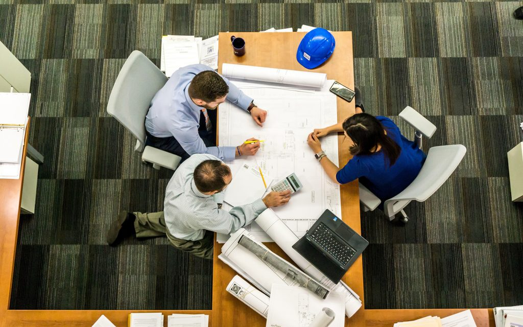 construction project management, iot