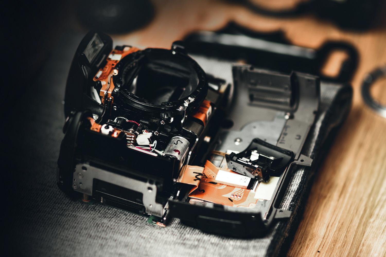 camera tear-down