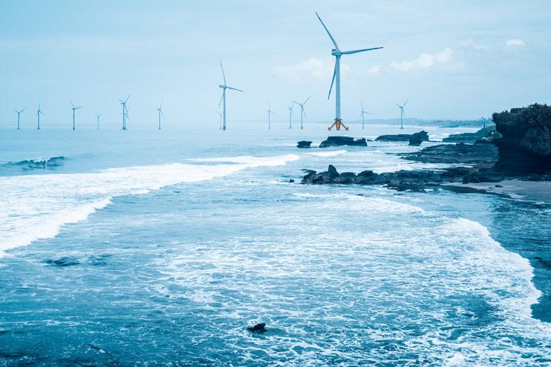 Off-shore-wind-farm